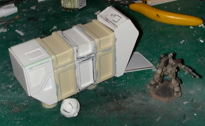 Progress so far - with more cast pieces